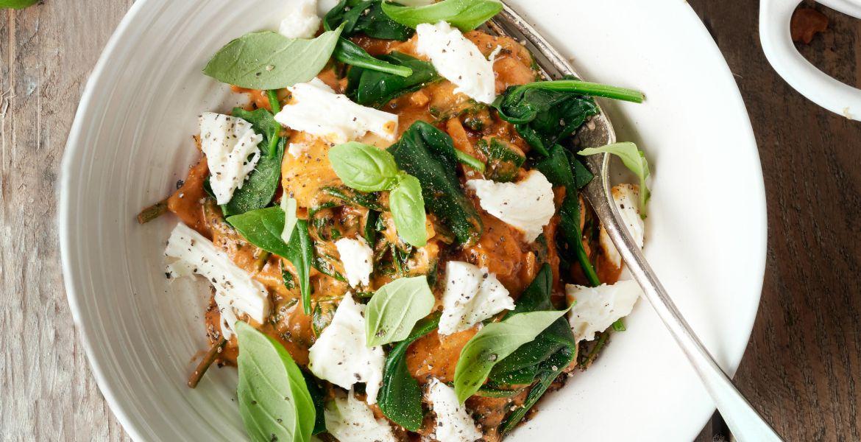 One pot veggie lasagne