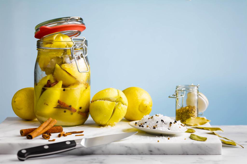 Gekonfijte citroenen