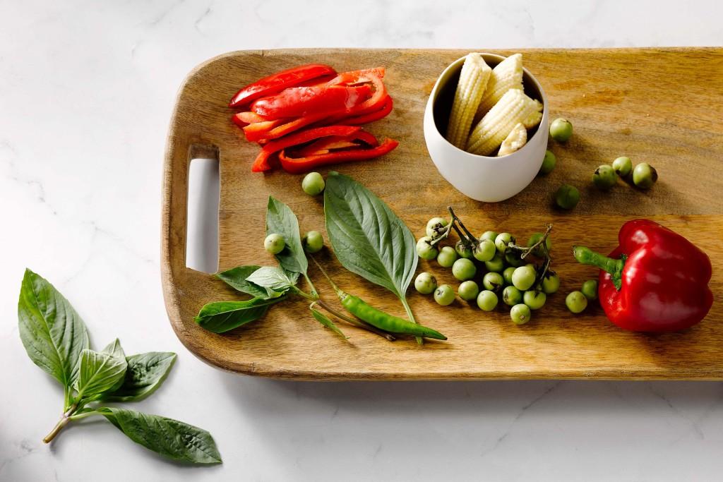 Koken met heilige basilicum