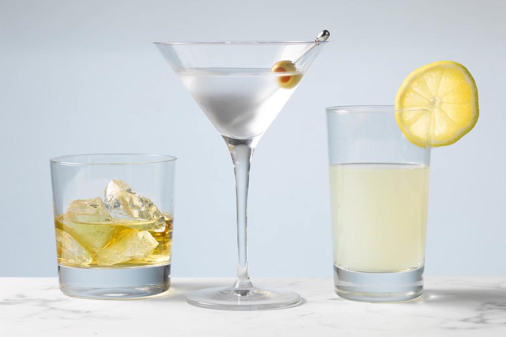 De 3 cocktailglazen die je nodig hebt