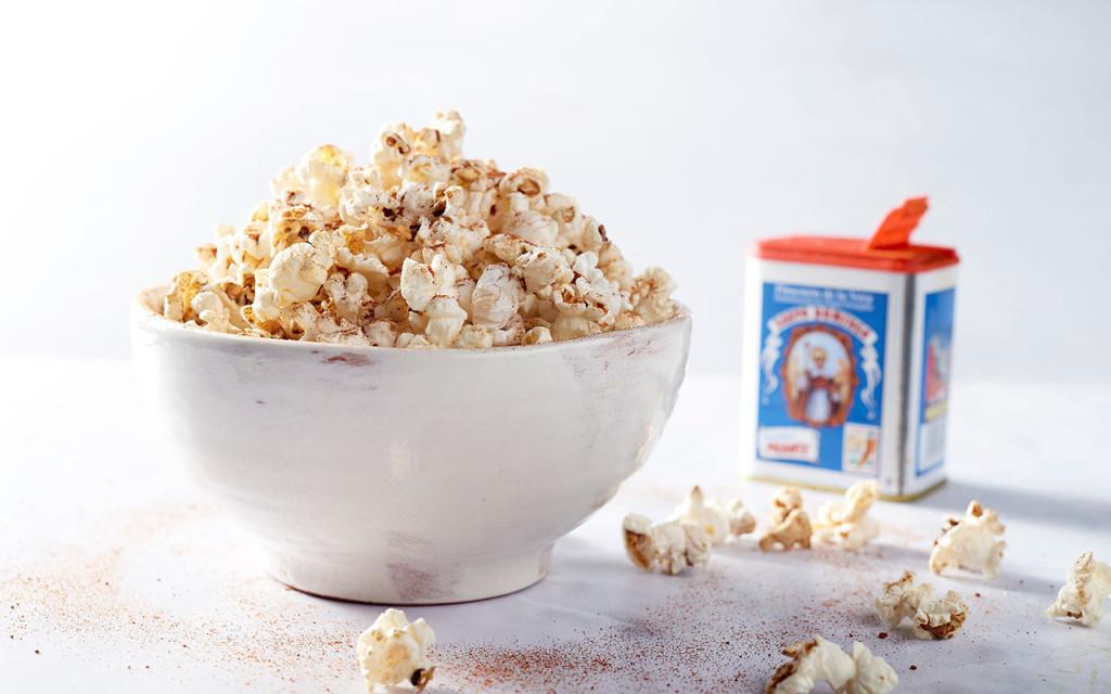 Palomitas, Spaanse popcorn met Pimentón de la Vera