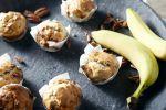 Stiekem bijna-suikervrije bananen-notenmuffins