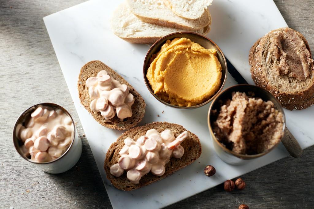 3 spreads voor op de boterhammen