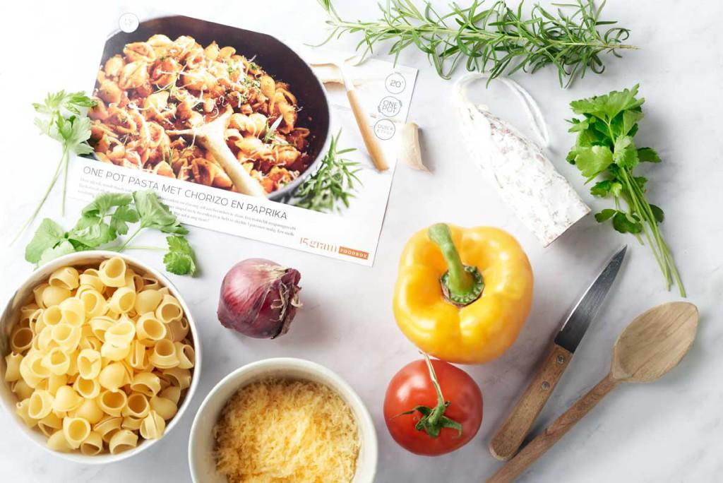 Ingrediënten 15gram Foodbox