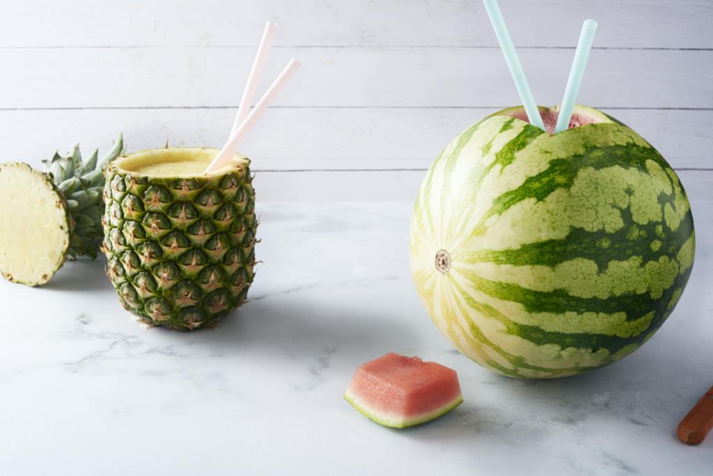 Tropische drankjes voor hete dagen